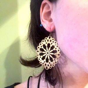 Argento Vivo Vermeil Statement Earrings
